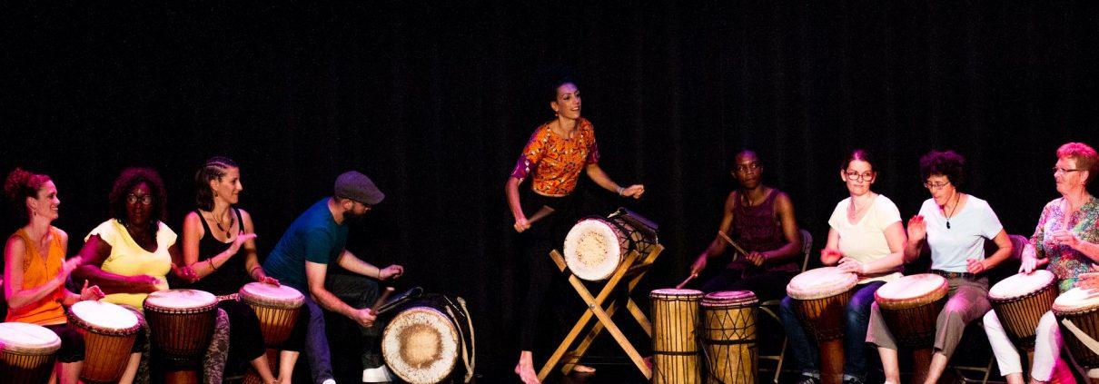 eleves percu danse l afrique danse